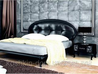 Ліжко двоспальне Піонія 1,6 м'яка спинка MiroMark