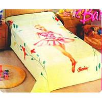 Плед детский акриловый Disney Barbie (Дисней Барби)160х220см