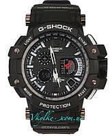 Спортивные часы Casio G-Shock GPW-1000 черные с белым