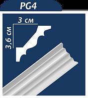 Потолочный плинтус PG4