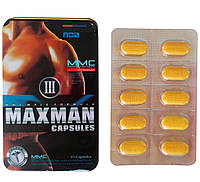 MaxMan III (макс мен 3) - 10 таб. (годн. январь 2018)
