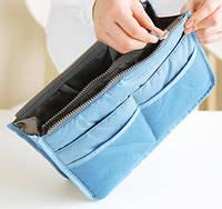 Органайзер для сумочки, голубой