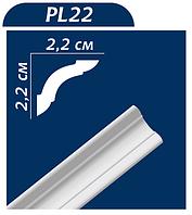 Потолочный плинтус PL22