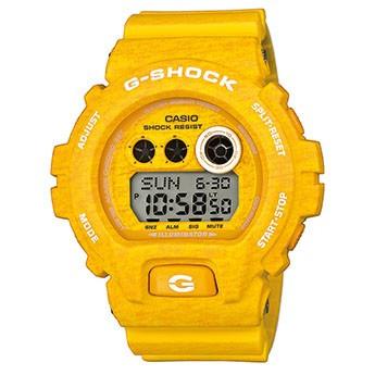 Мужские часы Casio Original GD-X6900HT-9ER желтые