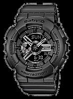 Женские спортивные часы CASIO Baby-G BA-110BC-1AER черные