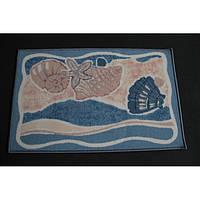 Комплект ковриков для ванной комнаты на резиновой основе - 130-305