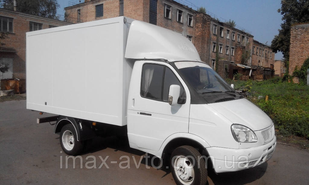 Сэндвич-панельный фургон на а/м ГАЗ-3302
