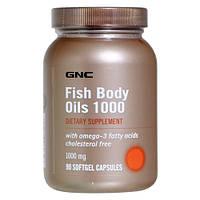 GNC Fish Body Oils 1000 90 softgel caps