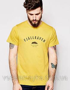 Желтая футболка Fjallraven 5
