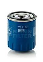 Масляный фильтр Mann-Filter на Citroen Jumpy