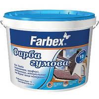 Фарба резиновая коричневая 1,2кг