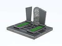 Изготовление памятников в симферополе и крыму (двойной, гранит, покостовский гранит)