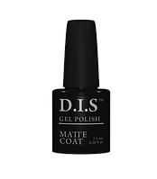 Верхнее покрытие D.I.S. nail Gel Polish Matte Coat 7.5ml матовое