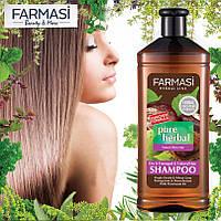 Травяной шампунь для сухих и окрашенных волос
