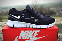 Мужские кроссовки Nike free run 2.0 black