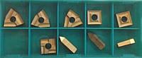 Пластины твердосплавные сменные 9 шт из карбида для набора токарных резцов по металлу из из 9 шт 12х12 мм