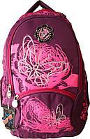 Рюкзак с бабочкой розовый и фиолетовый Mi65-22