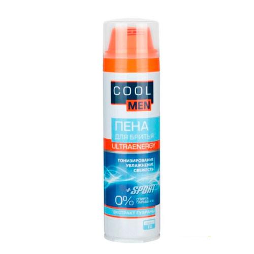 Cool Men Ultraenergy Пена для бритья 250 мл - FEEL.COM.UA интернет-магазин  в Одессе