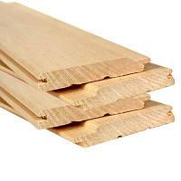 Вагонка деревянная 7см х 2,5м цена за 1 планку