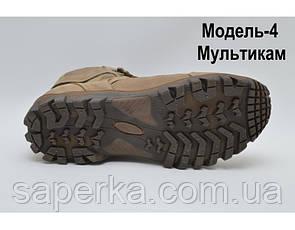 Тактические кроссовки с увеличенной берцой на мембране. Модель 4 мультикам, фото 3
