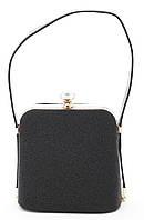 Стильная женская сумка с оригинального материала Б/Н art. 9005-Z black