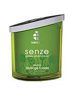 "Свеча для массажа с ароматом ""Vitalizing"", Senze, 160 мл"