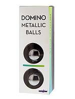 Железные вагинальные шарики Domino Metallic Balls, фото 1