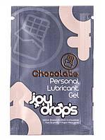 Пробник лубриканта Joy Drops со вкусом шоколада