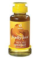 Массажное масло со вкусом корицы и ванили,SWEDE,100 мл