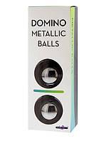 Железные вагинальные шарики Domino Metallic Balls, SILVER