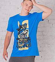 Мужская футболка принт 01, фото 1