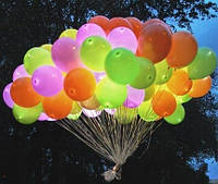 Светящиеся гелиевые шары, фото 1