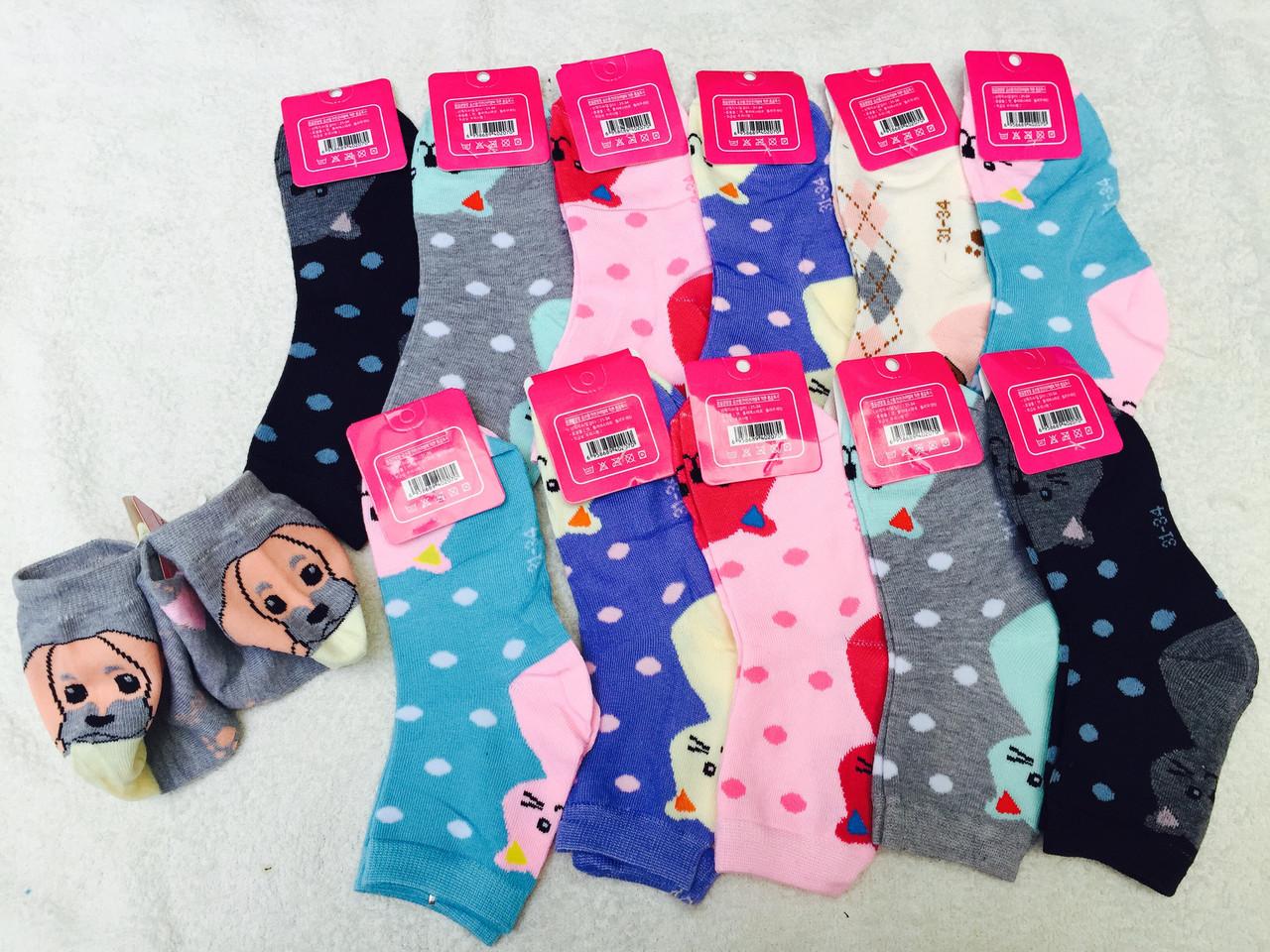 Носки подросток, детские носочки модельные