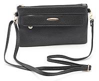 Аккуратная женская черная сумка барсетка FUERDANNI art. 8802