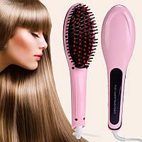 Расческа Выпрямитель Fast Hair Straightener HQT906