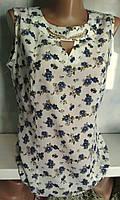 красивая летняя блузка без рукавов
