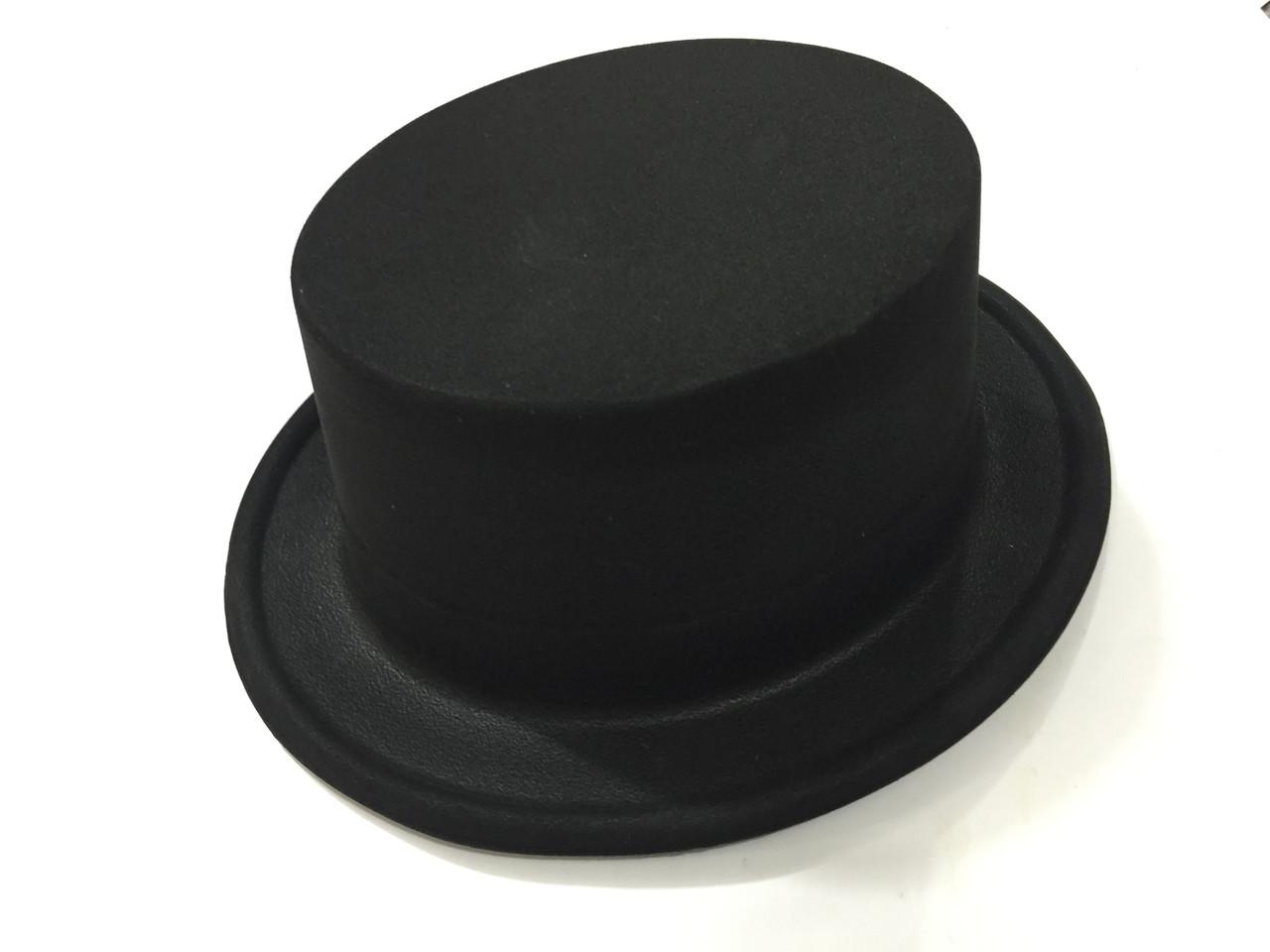 Шляпа пластик цилиндр 28*24см - ФИШКА в Киеве