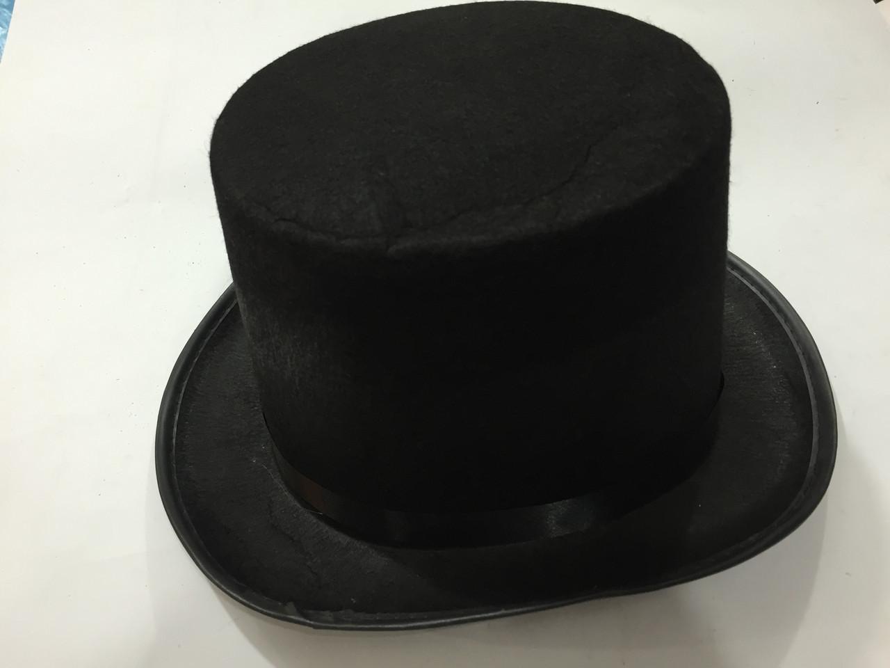 Шляпа цилиндр 30*26см - ФИШКА в Киеве