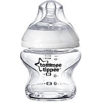 Бутылочка для кормления Tommee Tippee  стеклянная 150 мл - (42243777)