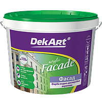 "Краска фасадная ""Facade"" ТМ ""DekArt""10 л."