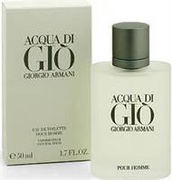 Giorgio Armani Acqua Di Gio Pour Homme EDT 50 ml. m оригинал