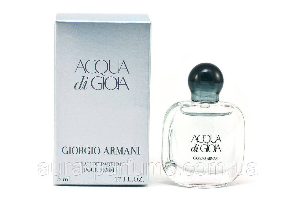 Giorgio Armani Acqua Di Gioia Edp 5mlw оригинал продажа цена в