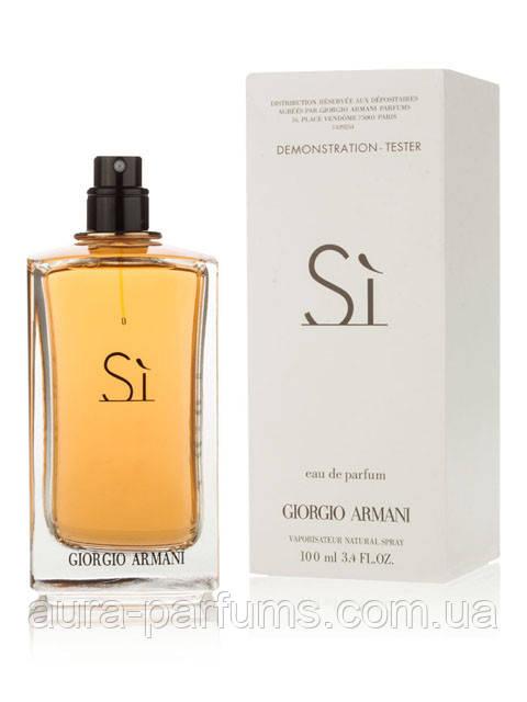 Giorgio Armani Si edp 100 ml.w оригинал Тестер f262c805c8985