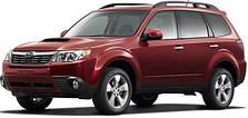 Пороги на Subaru Forester (c 2008--)