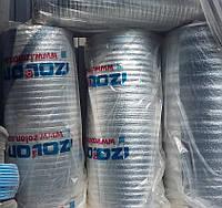 Отражающая теплоизоляция IZOLON фольгированная (толщина 2 мм, 1х50 м)