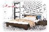 Ліжко дерев'яне Титан