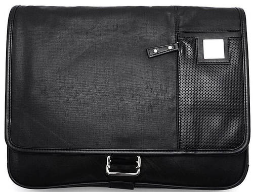 Удобная молодежная сумка через плече Lab Pal Zileri Sportiv 26117/10 черный
