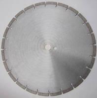 Алмазный диск для резки высокопрочного бетона, гранита  350x3,2/2.2x10x25,4-(24) Silver metal