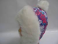 Шапка - Снежка (сиреневая), фото 1