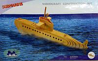 "3Д пазлы ""Подводная лодка"" (4 пластины)"